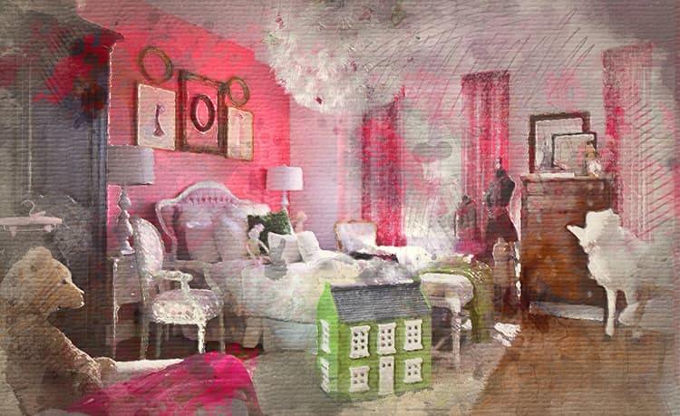 Девичья комната – это уютное место, полное очаровательных вещиц