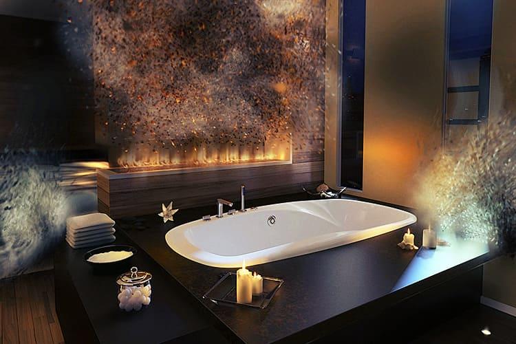 Ванная комната – особое место в доме или квартире. Правильное использование аксессуаров сделает её очень привлекательной
