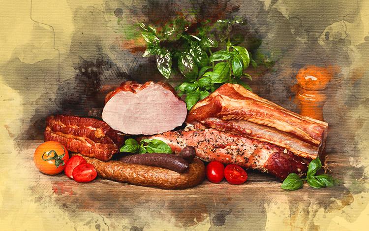 Домашние мясные деликатесы украсят ваш стол и порадуют близких
