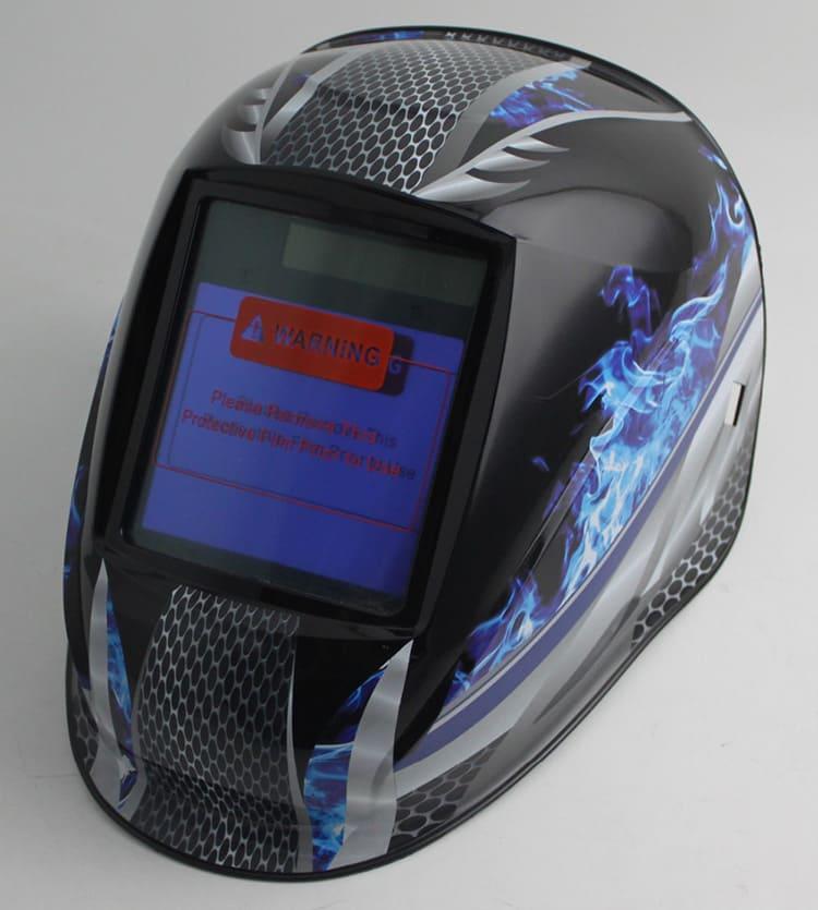 Этот шлем надёжно защитит ваши глаза от повреждения