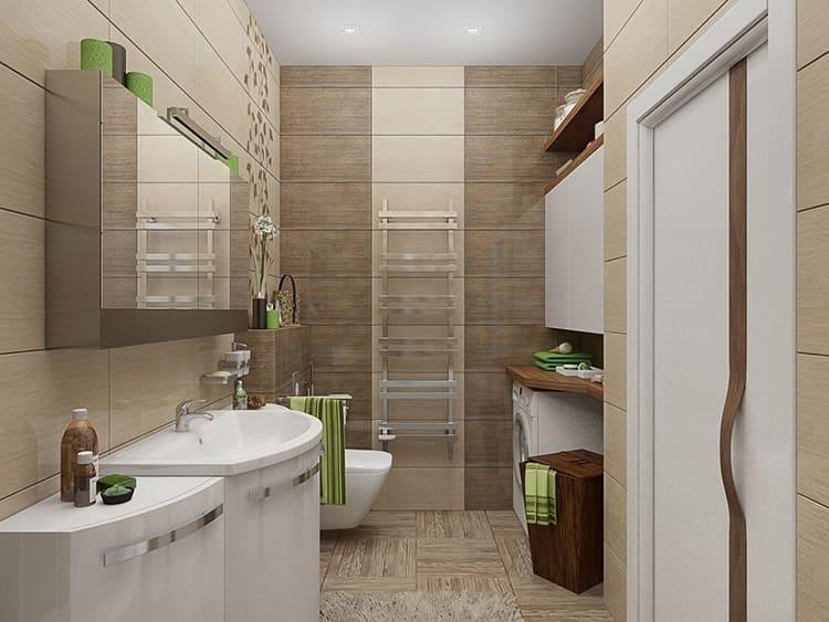 Совмещение ванной с санузлом делает помещение просторнее и функциональнее