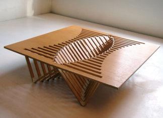 Мебель из фанеры: дизайнерская и сделанная своими руками