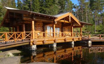 Баня из бревна – воплощение лучших русских традиций