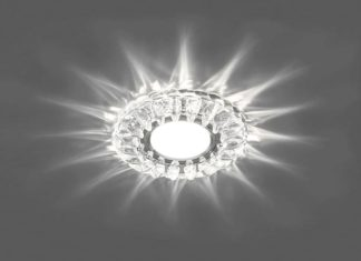 Всегда уютно и светло, выбираем подходящие светильники для натяжных потолков