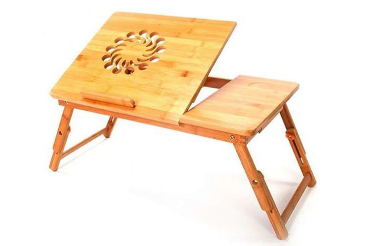 Столик для завтрака и одновременной работы с ноутбуком