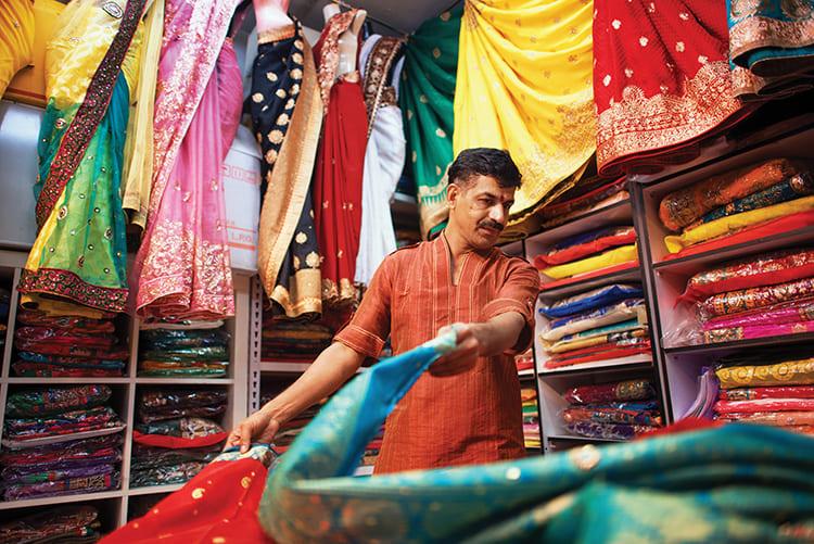 Индийская ткань известна своим отличным качеством