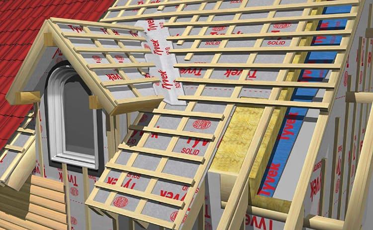 Утеплитель для крыши из металлочерепицы должен иметь достаточную толщину