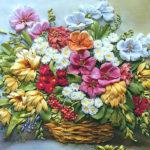 Эффектные цветочные композиции из искусственных цветов для интерьера