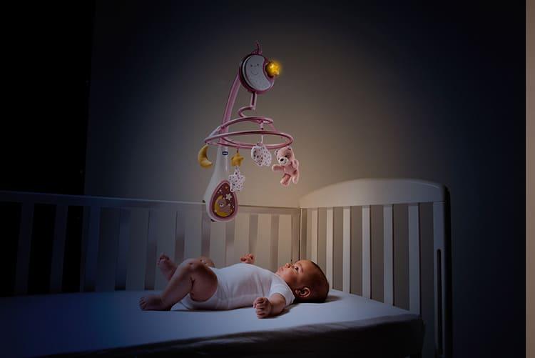 Световое сопровождение актуально для новорождённых