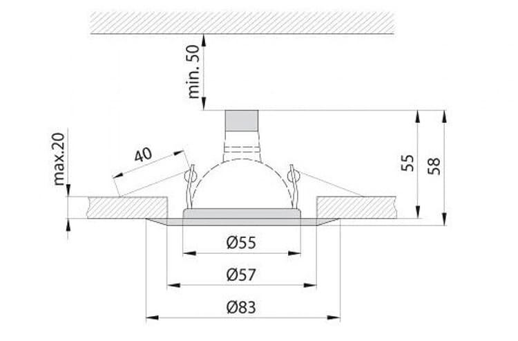 Размеры изделий стандартизированы