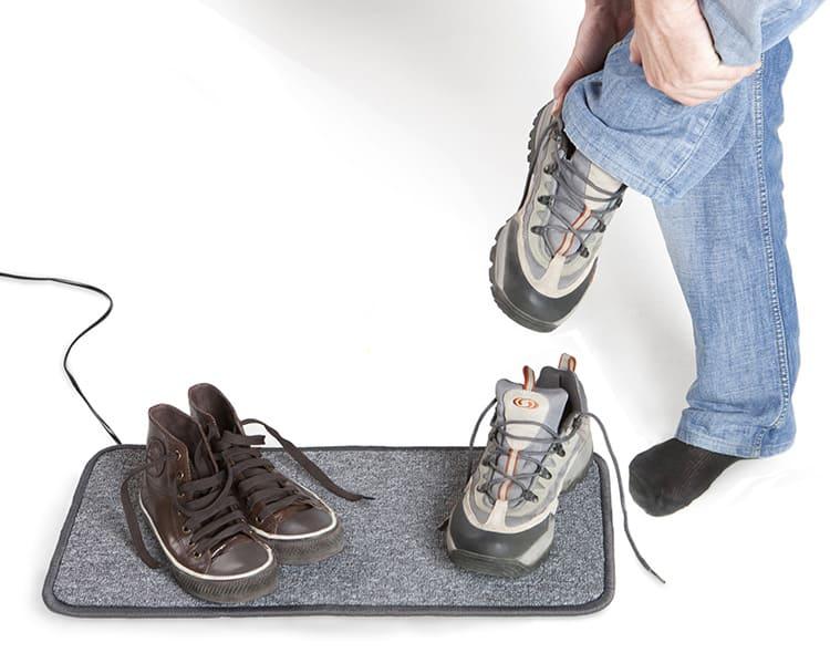 Коврики можно использовать даже для сушки обуви
