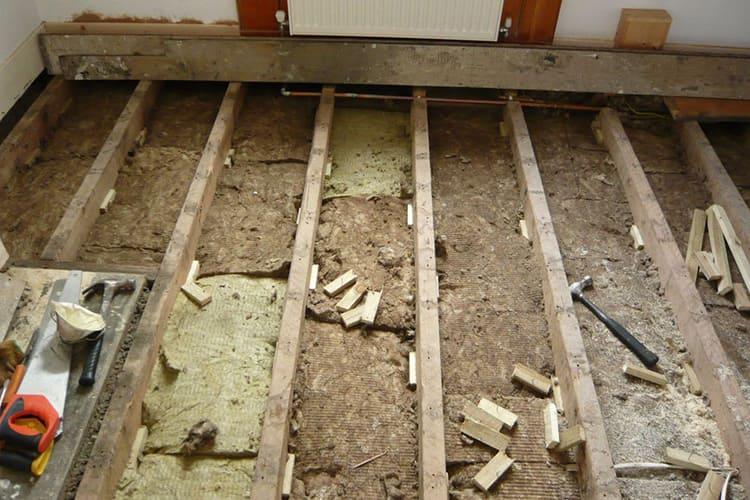 Термоизоляцию можно делать и в старом доме