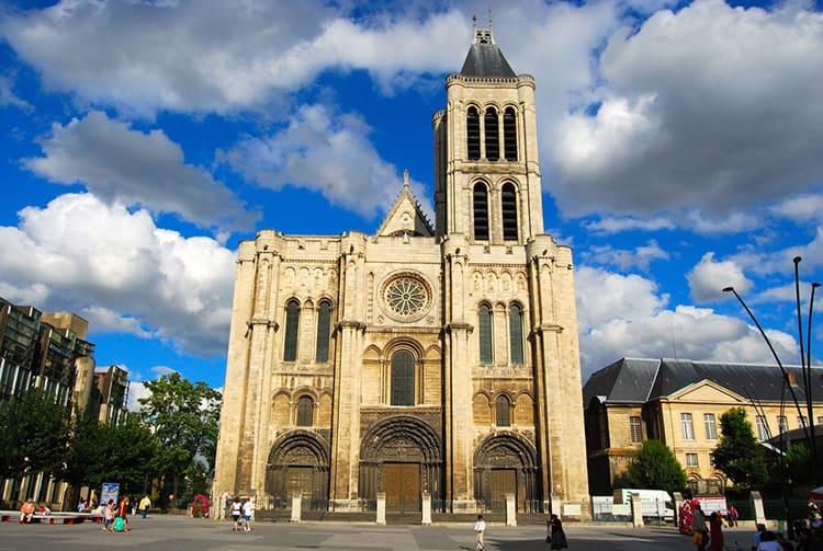 Монастырская церковь Сен Дени