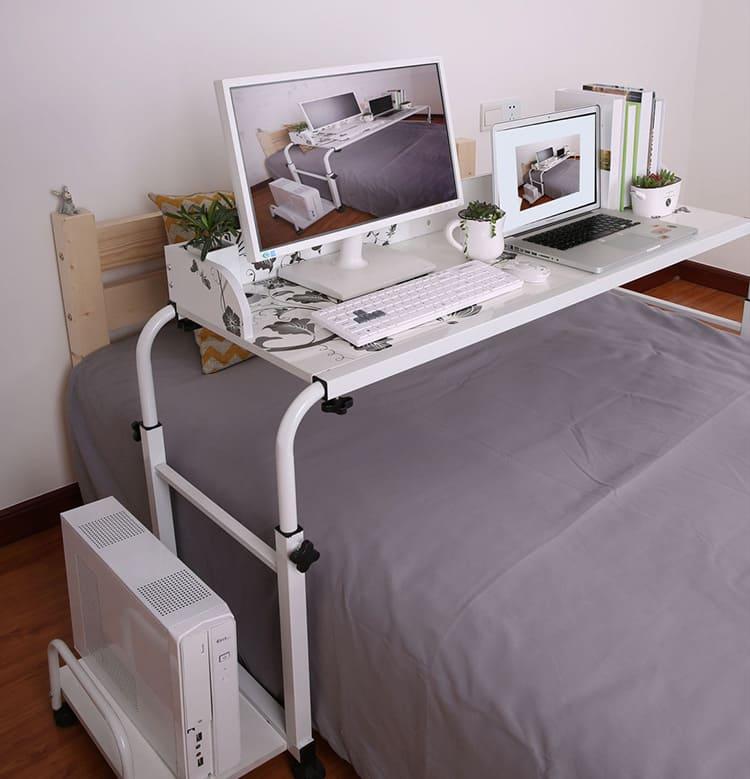 Удобный многофункциональный прикроватный столик