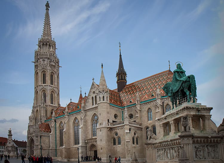 Будапештский костел святого Матьяша – хорошо сохранившееся готическое сооружение