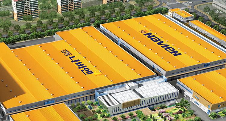 Компания Navien (Навьен) поставляет продукцию во многие страны