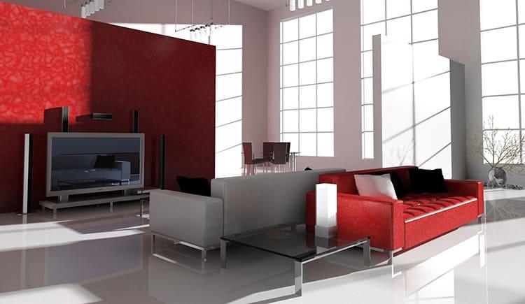 Стильный диван со спальным местом для кухни-гостиной хай-тек