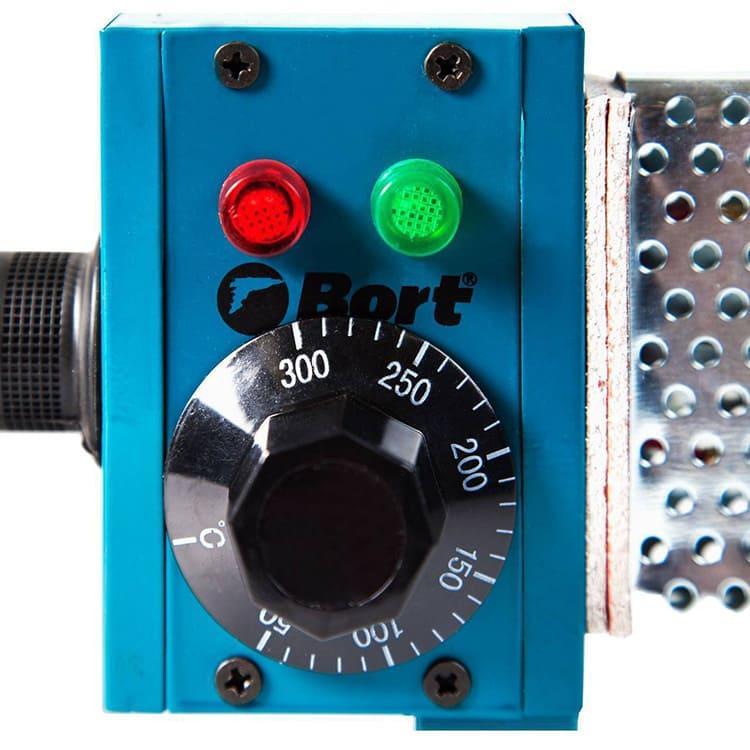 Зелёный индикатор оповестит о достаточном нагреве устройства