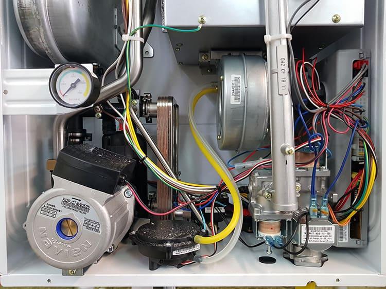 Электронный блок позволяет выставить оптимальный режим нагрева