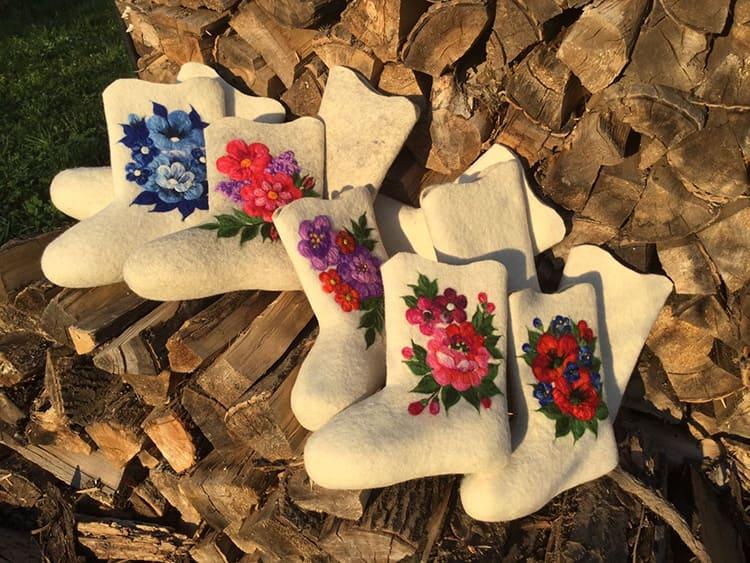 Вспомните традиционные русские валенки – это тоже шерстяное изделие