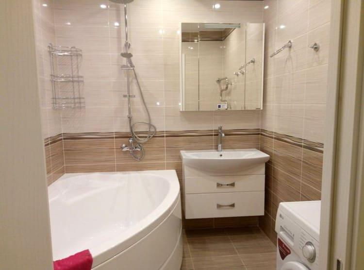 Фото ремонта ванной комнаты «под ключ»