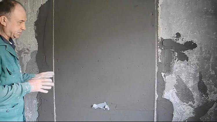 Ровные стены сократят расход материалов чистовой отделки