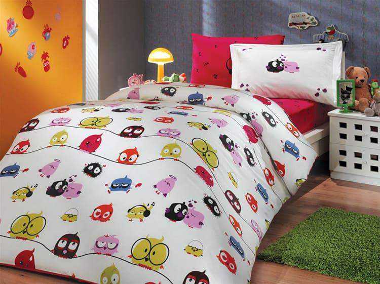 Перкалевое бельё советуют использовать для детской постели