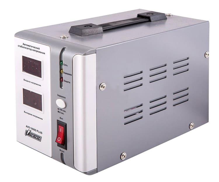 Эксплуатация стабилизатора возможна только при положительной температуре