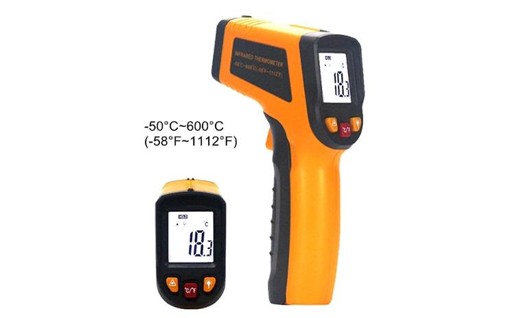 Прибор для измерения температуры поверхности