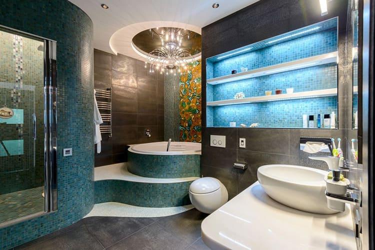 Просторная ванная – удобство и комфорт