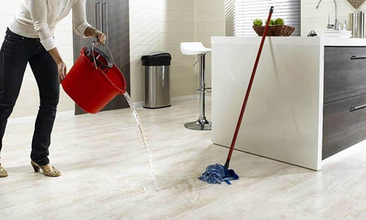 Возможна сухая и влажная уборка
