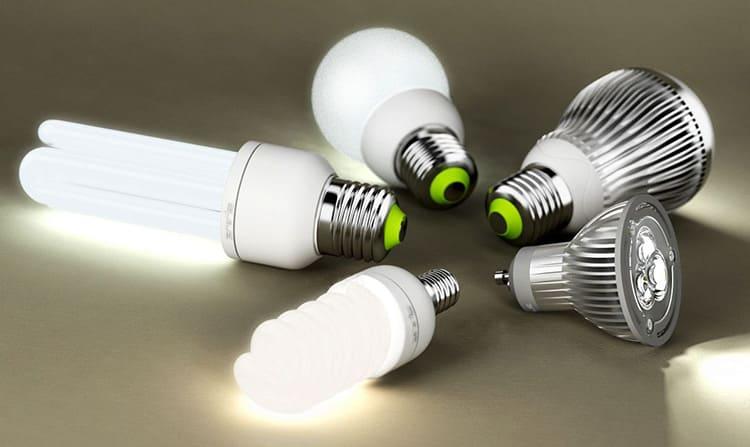 Лампы могут иметь различный вид и принцип работы