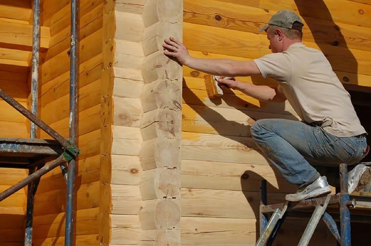Для решения проблемы повышения устойчивости, используются различные пропитки и древесные антисептики, которыми обрабатывают материал