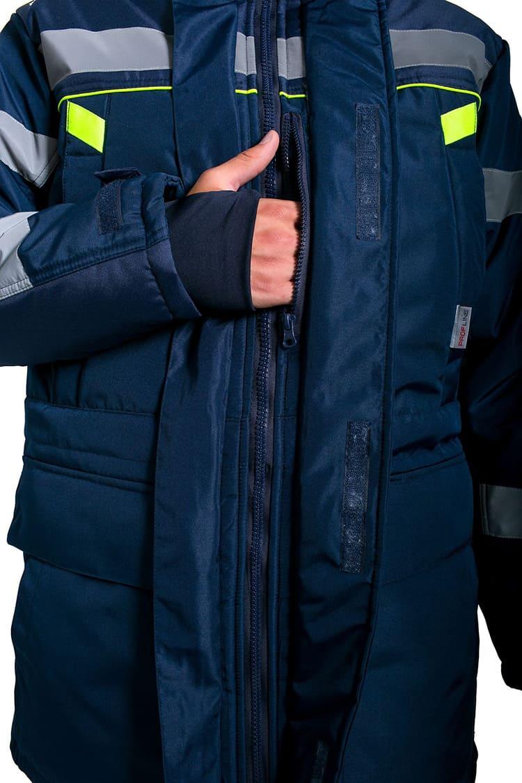 Лёгкая и тёплая куртка не будет сковывать движения