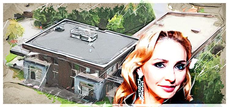 «Нескромное» жилище Татьяны Навки и её мужа