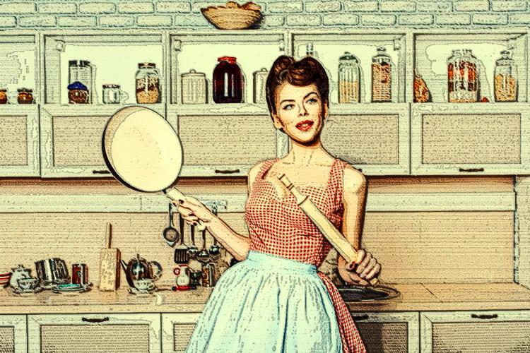 Рациональное использование свободного пространства на кухне – важная вещь, но во всём нужно знать меру
