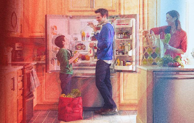 Холодильник – необходимый атрибут каждой кухни
