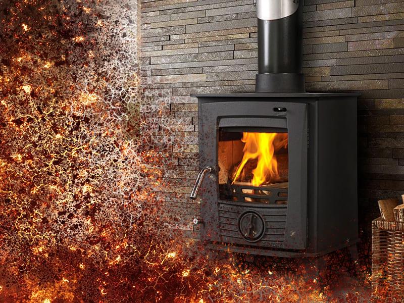 Печное отопление для дачи
