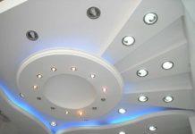 Стиль, индивидуальность, шик: на фото подвесные потолки из гипсокартона всегда выглядят красиво