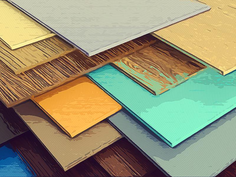 Цветовая гамма панелей пвх