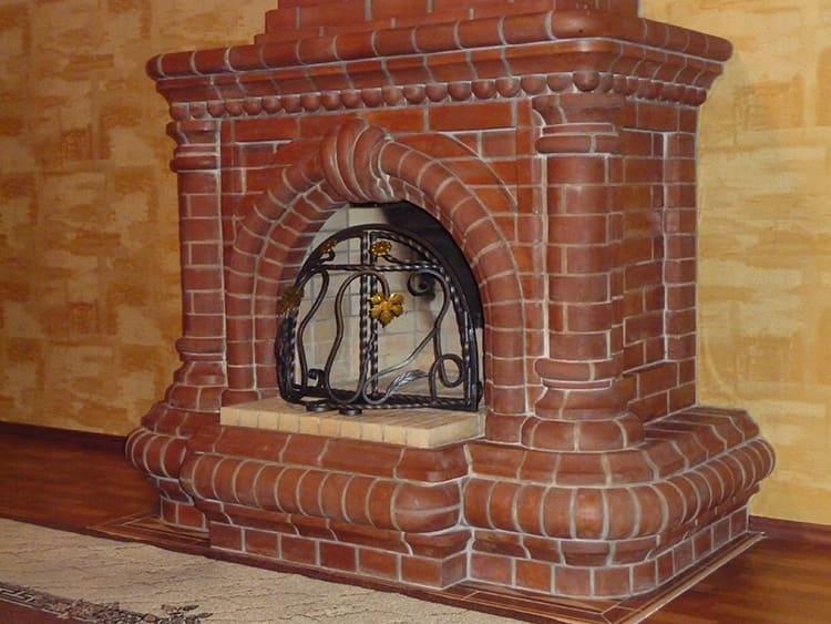 При желании, вы можете заказать печь-камин, чтобы любоваться открытым огнём