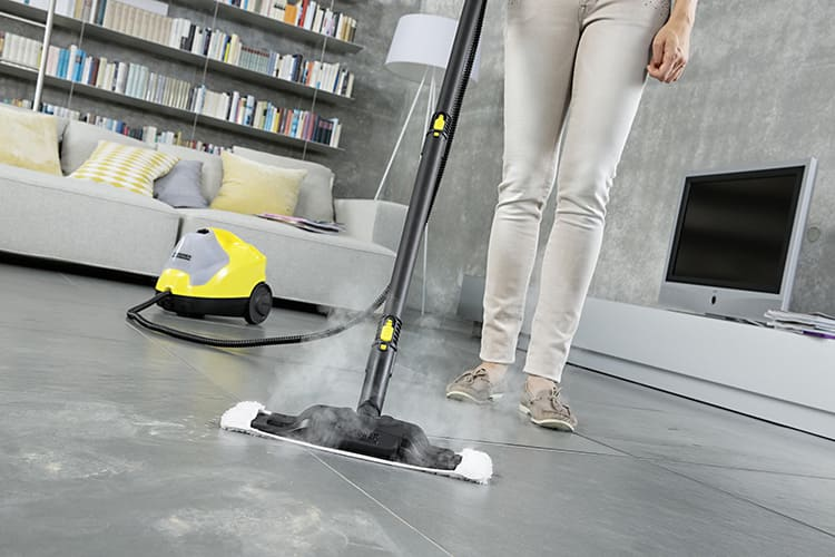 Напольные пароочистители позволят убрать весь дом