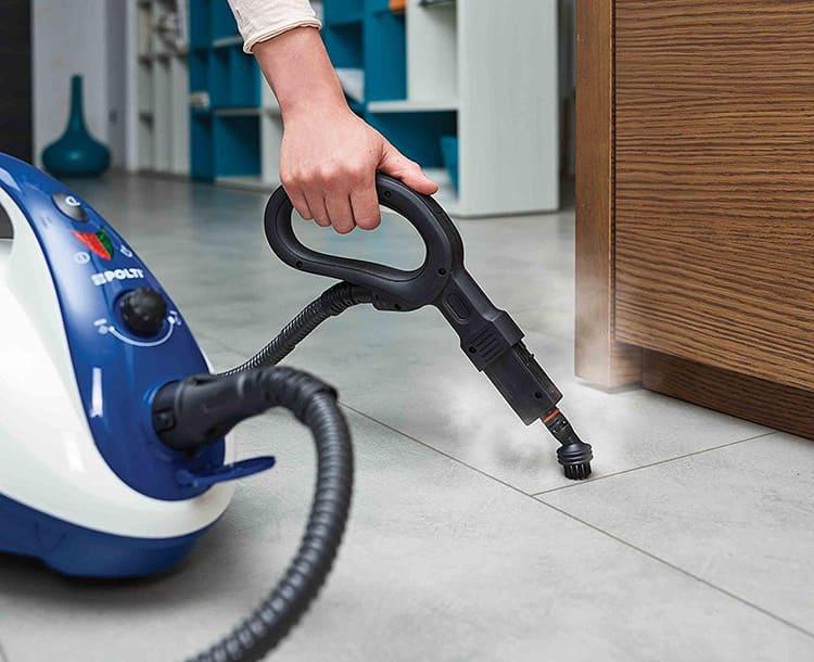 Регулирование мощности расширяет функционал пароочистителя для дома
