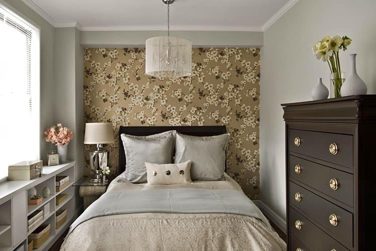 Создаём дизайн маленькой спальни: пособие от А до Я