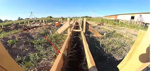 Идеально ровная опалубка для фундамента - секреты от строителей