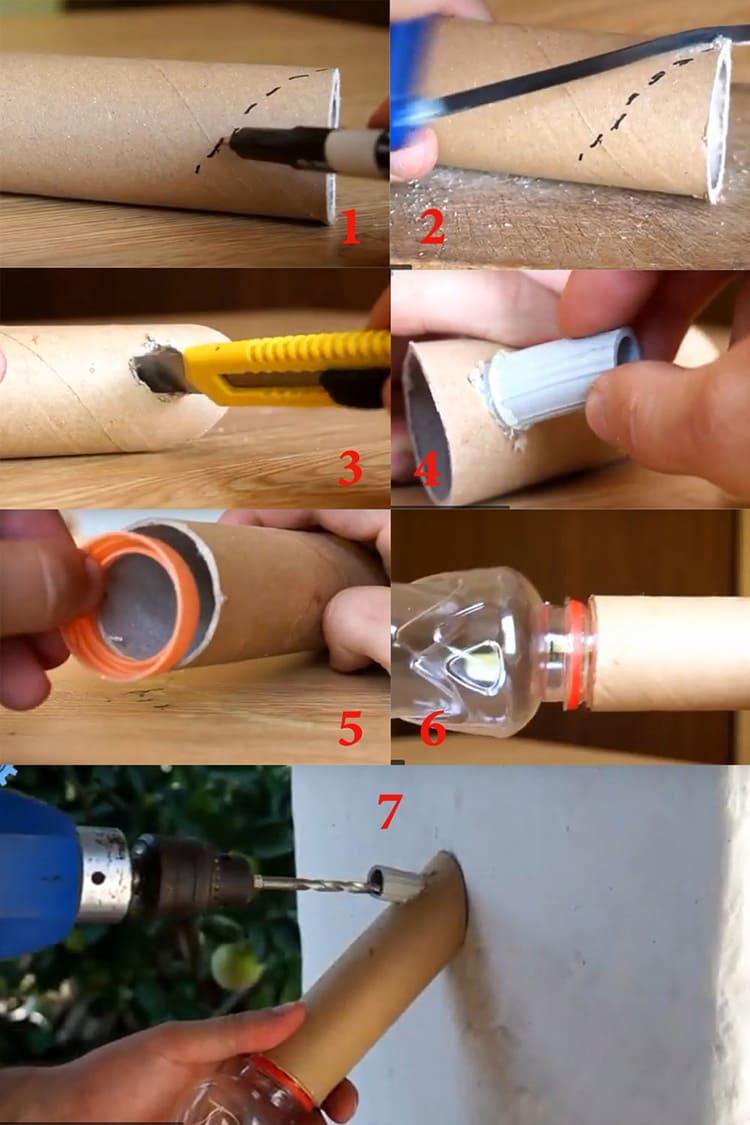 Пылесборник для дрели