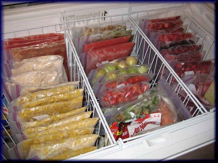 Если вы хотите хранить фрукты и овощи со своего огорода в замороженном виде или запасаетесь мясом на долгое время – нужен не холодильник, а объёмная морозильная камера