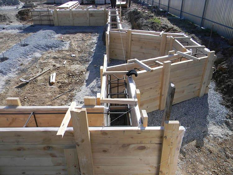 Опалубка – форма для бетонного раствора