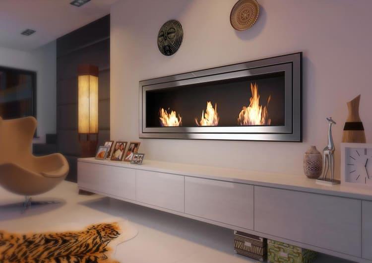 В качестве облицовки прибора может использоваться натуральный или искусственный камень, керамика, стекло с огнеупорными свойствами или металл