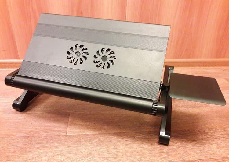 Дополнительная система охлаждения предотвратит перегрев ноутбука при интенсивном использовании